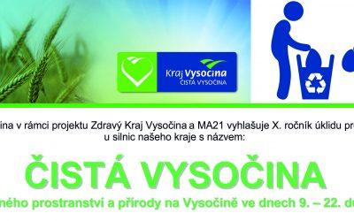 Čistá Vysočina 2018