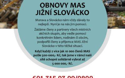Leader obnovy MAS Jižní Slovácko
